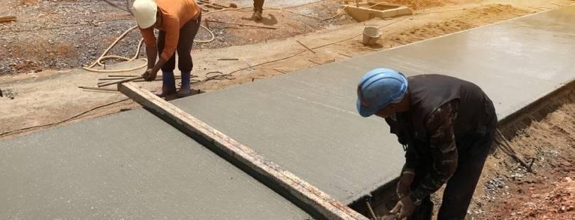 Стабилизация бетона цементный раствор воды