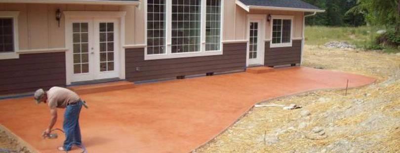 хорошая краска по бетону для наружных работ износостойкая купить